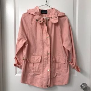 Jackets & Blazers - Blush Utility Jacket